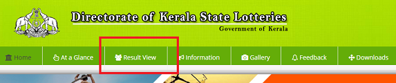 Kerala state lottery results today
