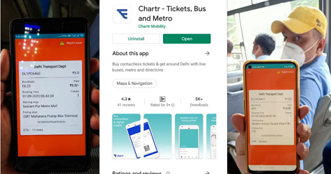 [Bus/Metro] Chartr App Download Online Ticket Booking | Chartr App