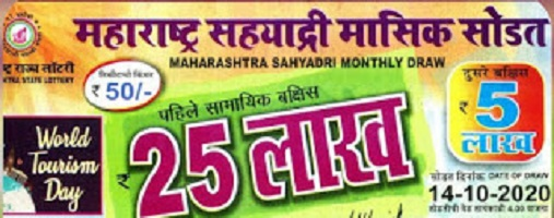 [Today Result] Maharashtra Sahyadri Monthly Lottery Result 2021: Draw