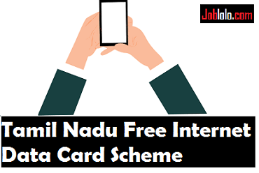Tamil Nadu Free Data Card Scheme